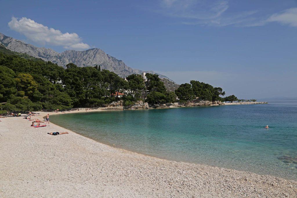 Strandvergnügen bei Brela