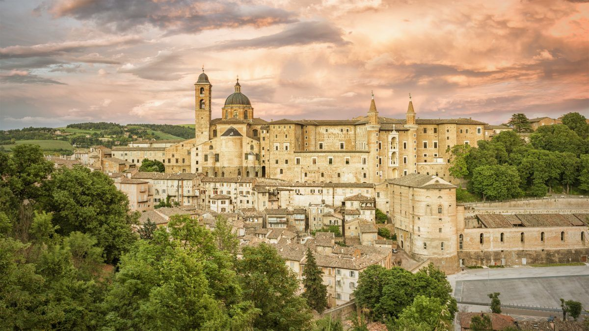 Urbino in den Marken © magann / Adobe Stock