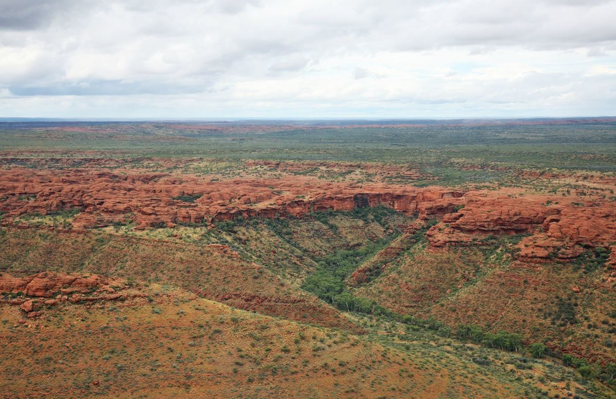 Kings Canyon im Northern Territory © Tourism Australia