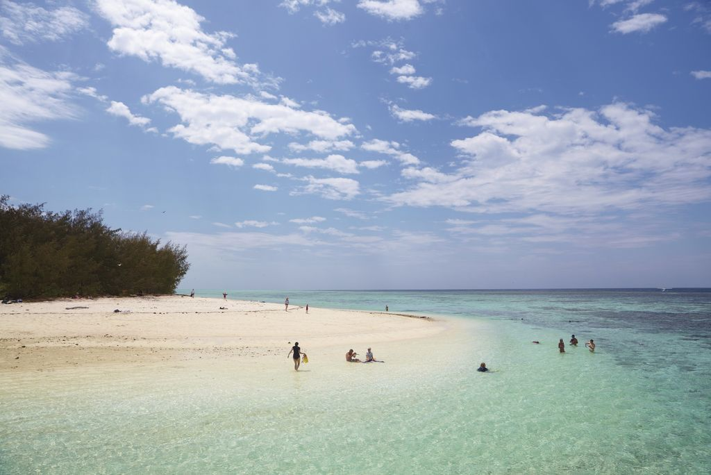 Heron Island, Great Barrier Reef, QLD © Tourism Australia