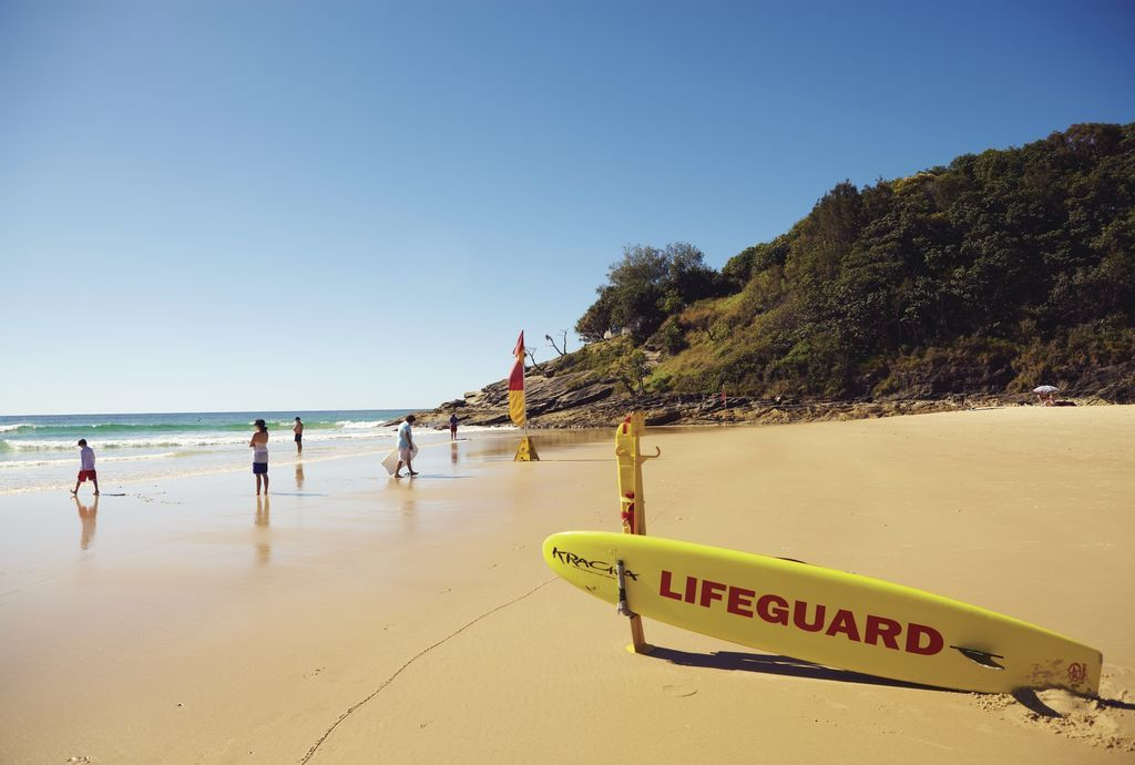 Cylinder Beach, North Stradbroke Island, QLD © Tourism Australia