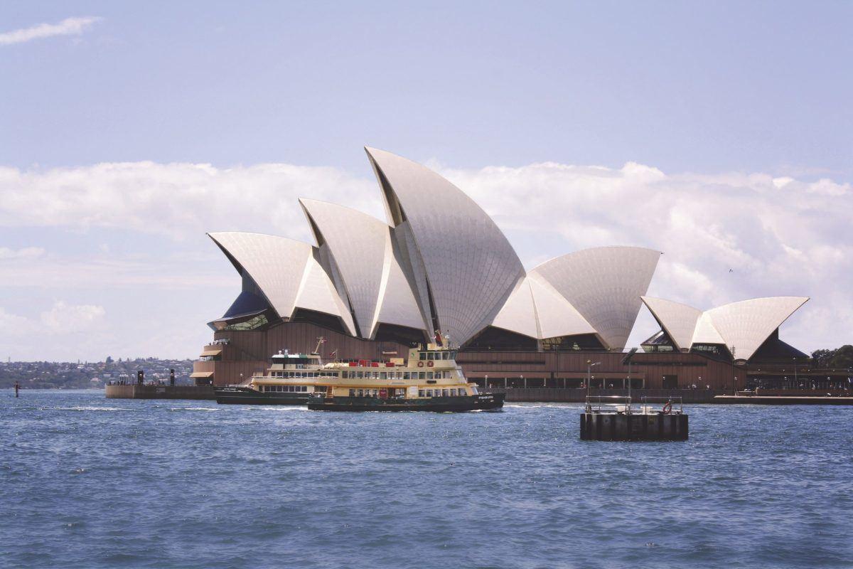 Das Sydney Opera House © Tourism Australia