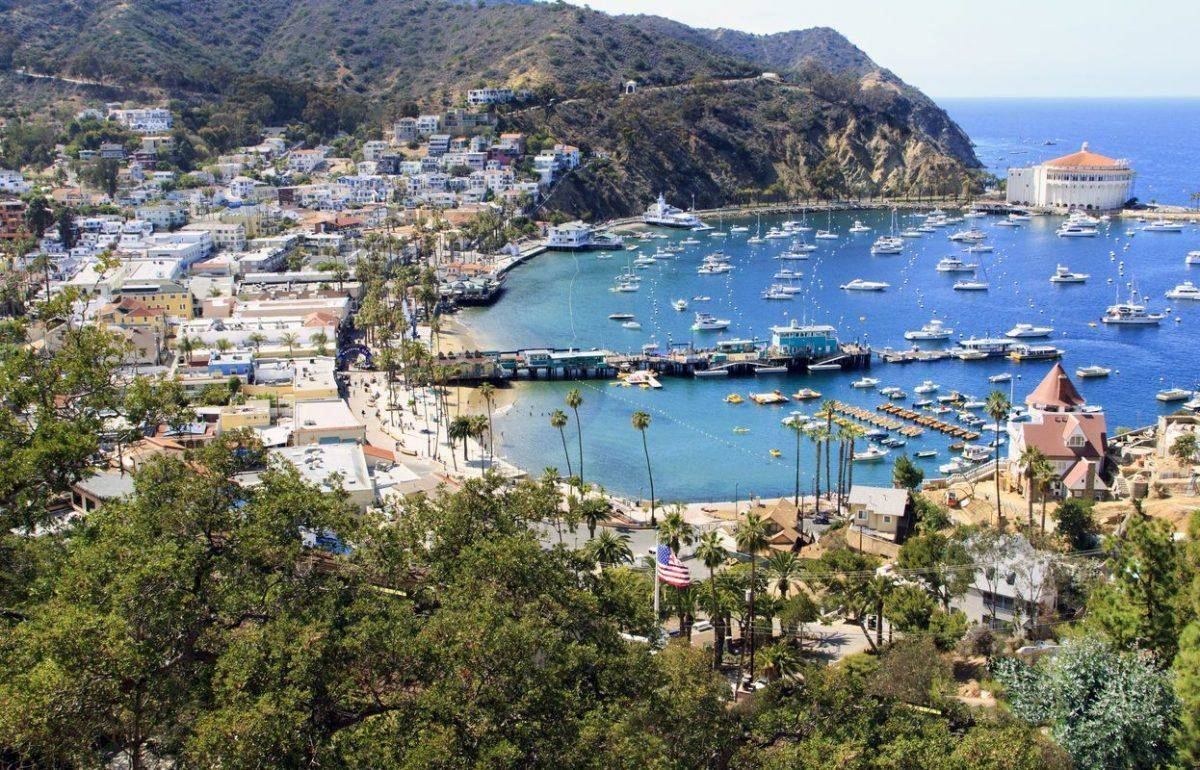 Avalon Harbor auf Santa Catalina ©ROBERT/AdobeStock