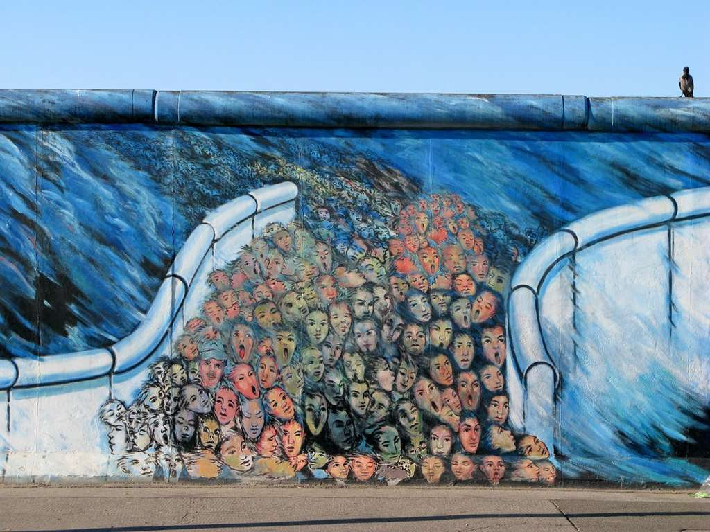 Die East Side Gallery in Berlin © Thomas Zwicker
