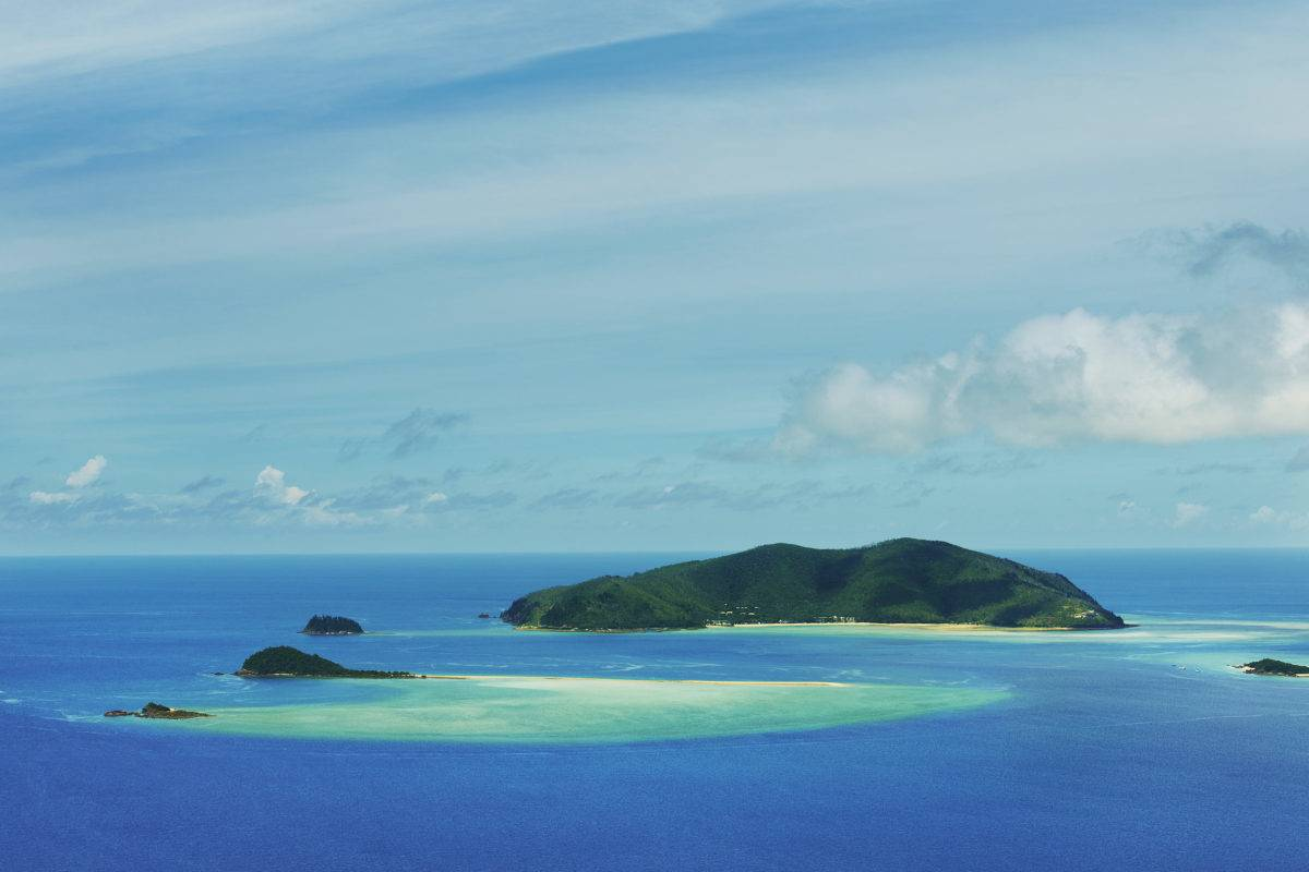 Luftbild von Hayman Island © Tourism and Events Queensland