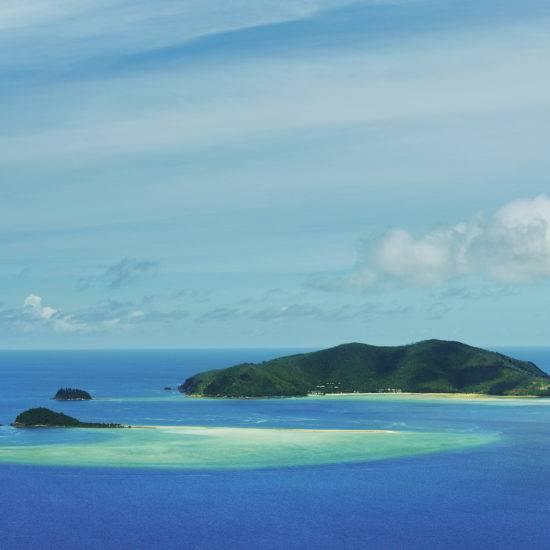 Luftbild von Hayman Island © Tourism and Events Queensland