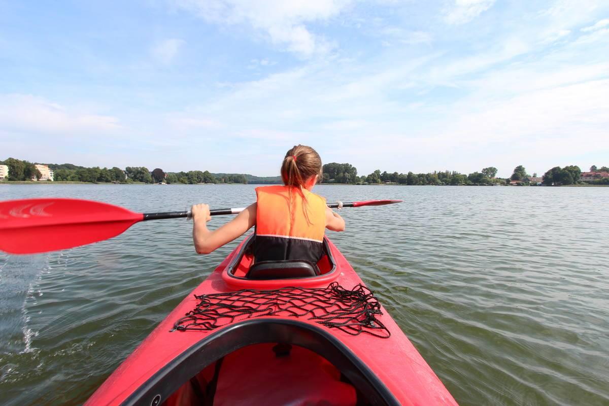 Kanutour Mecklenburgische Seenplatte © Andreas Weise