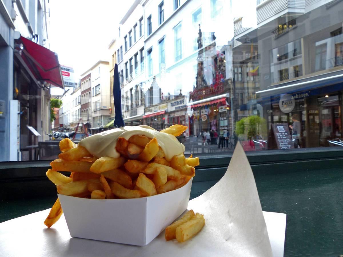 Eine der kulinarischen Schätze Belgiens - die Fritten © Martina Sörensen