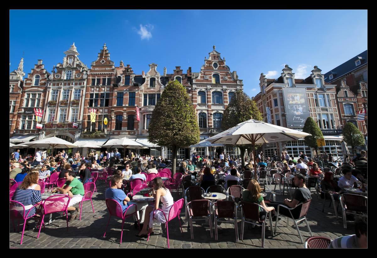 Oude Markt Leuven (c) Toerisme Leuven