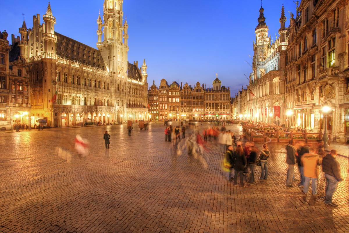 Grand Place in Brüssel © Jochen Tack