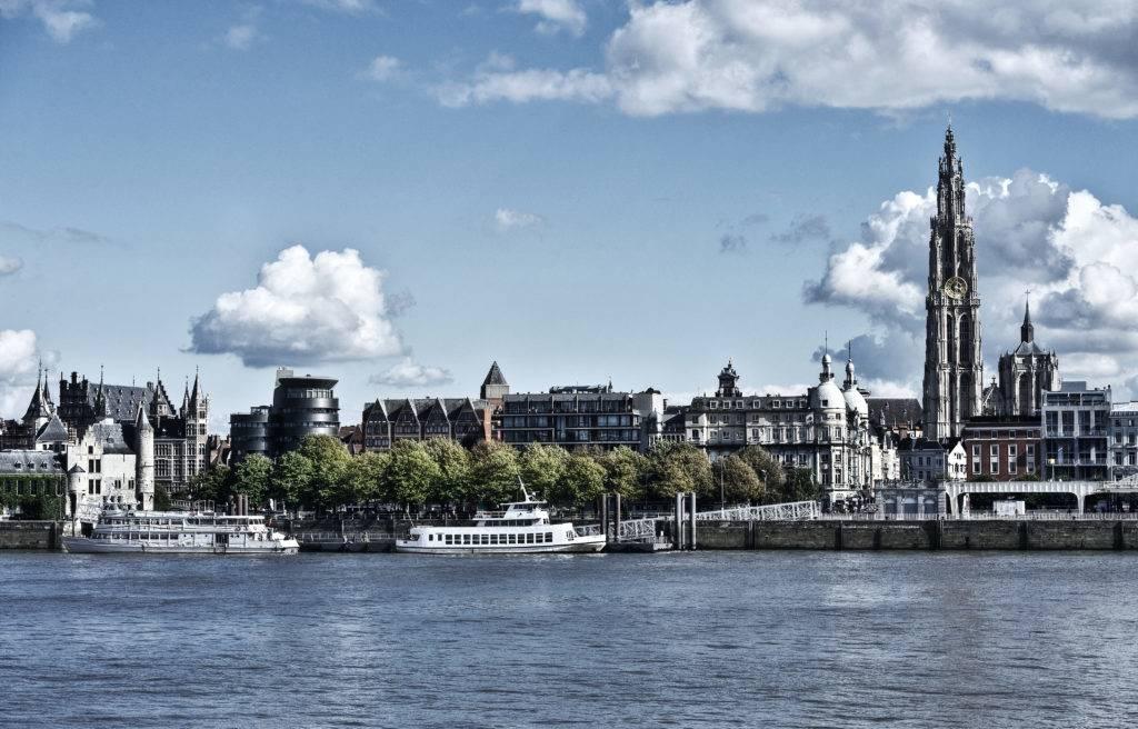 Die Skyline von Antwerpen © Visit Antwerp