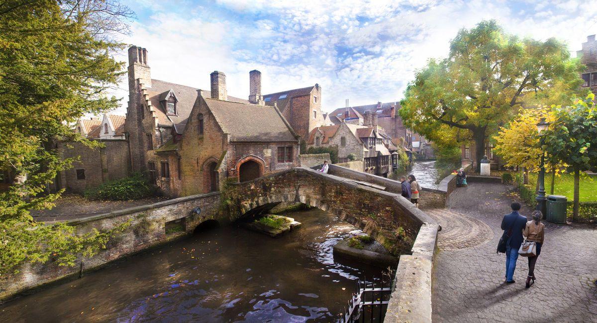 Ein wirklich romantisches Plätzchen: Die Bonifaciusbrug in Brügge © VisitFlanders/ Jan D'Hondt