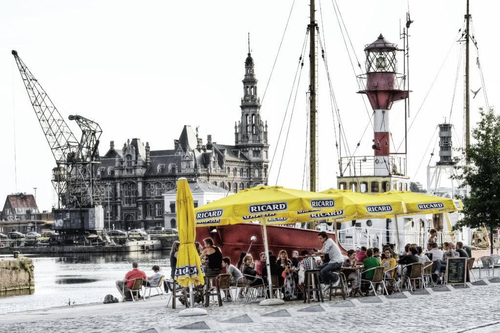 Genuss am Hafen © Antwerpen Toerisme & Congres/Dave Van Laere